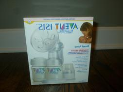 Avent Isis Manual Breast Pump NEW Open Box Missing One Bottl