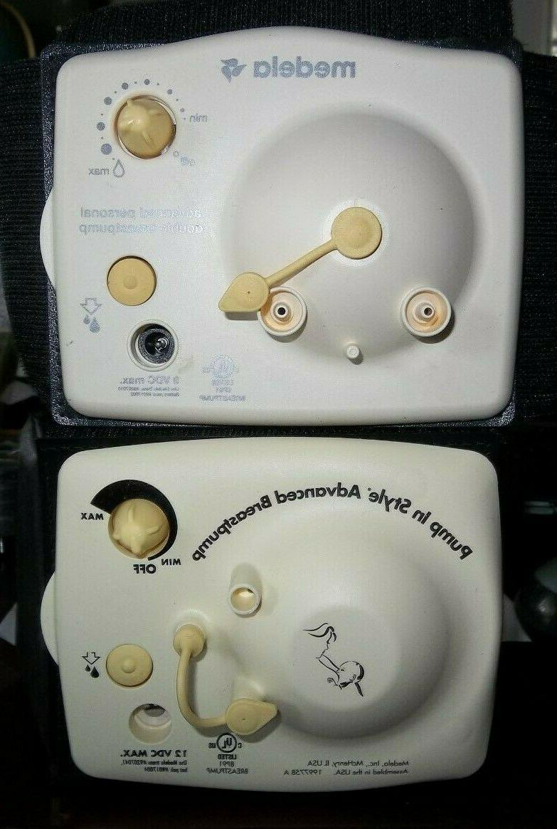 2 electric breast pumps pump in style