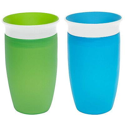 2 pack 296 ml sippy cup green