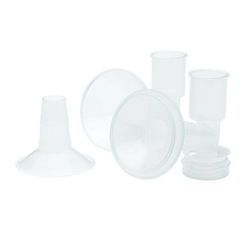 Ameda CustomFit Breast Flanges Medium/Large, Flanges Insert, Extra Flanges Better Comfortable Pumping,