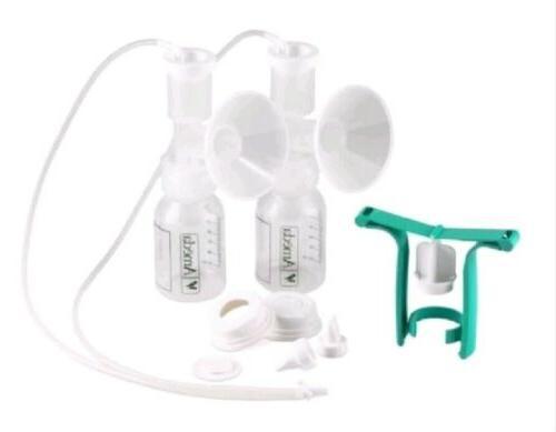 Ameda Dual HygieniKit Milk Collection System w/One Hand Brea