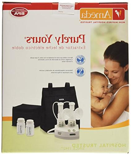 Electric Breast White, Includes: Pump, HygieniKit System, Shoulder Bag, Cool'N Carry Milk AC Storage Ice Packs