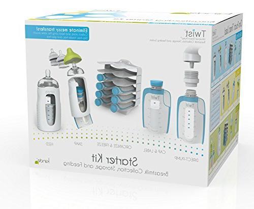 Kiinde Breast Milk Storage Twist Kit