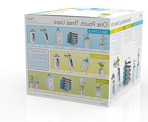 Kiinde Breast Storage Twist Kit