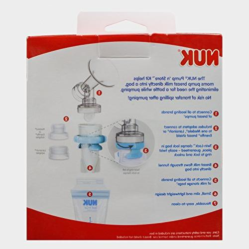 NUK Pump N Store Breast Storage Kit