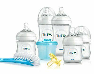 Philips Avent Natural Newborn Baby Bottle Starter Set, SCD29