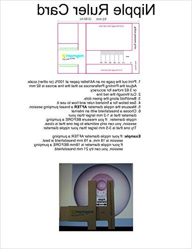 Maymom Brand 15 2xOne-Piece w/Valve Medela Breast