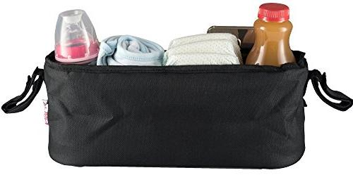 Universal Stroller Organizer By Cup Holders - for Phone