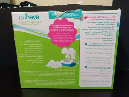 Evenflo Advanced Double Electric Breast Pump Used very