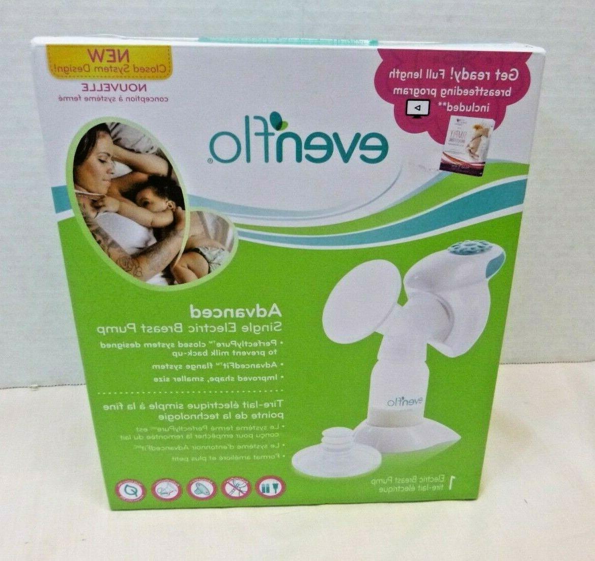 advanced single electric breast pump natural feeding
