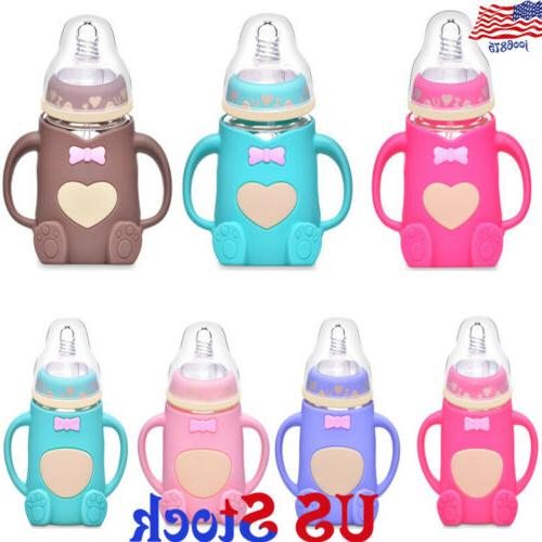 Silicone Breast Mom Breastfeeding Pump Baby Kids Feeding Mil