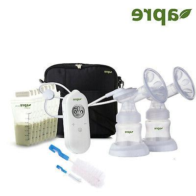 apre 2 in1 twin electric breast pump