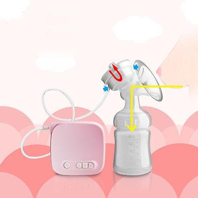 Automatic Breast Suction Baby Bottle USB