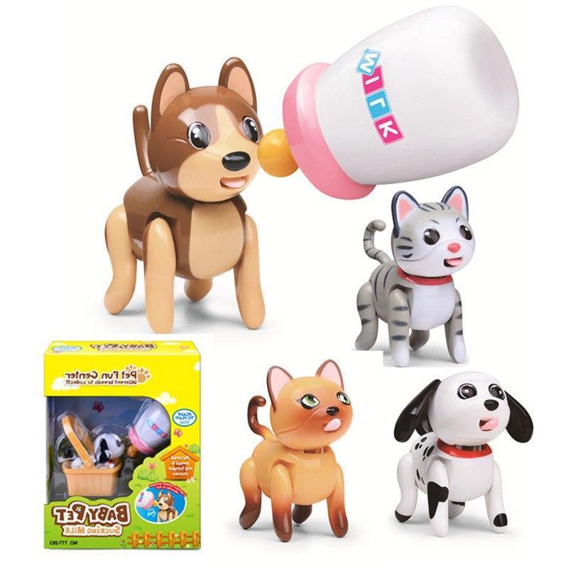 Baby Pet Sucking Milk Toy Early Educational Feeding Toys Int