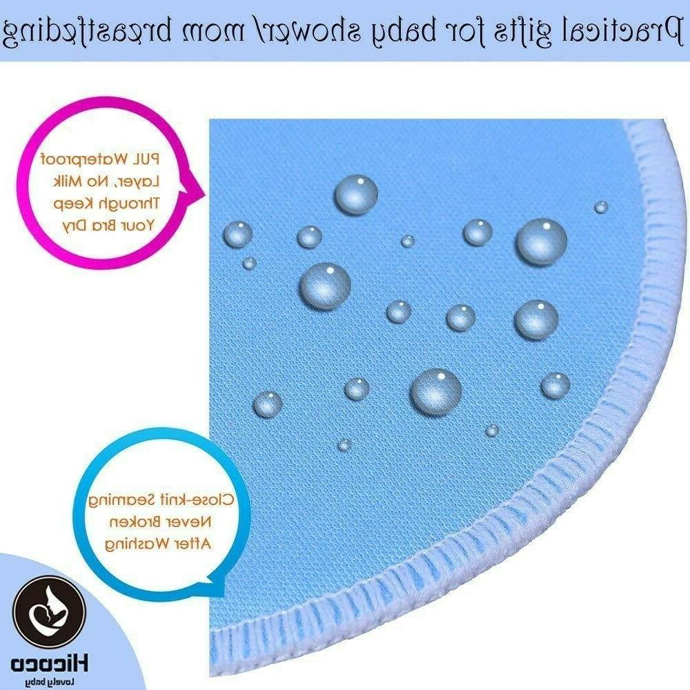Bamboo Reusable Nursing Washable Pads Pack of 14