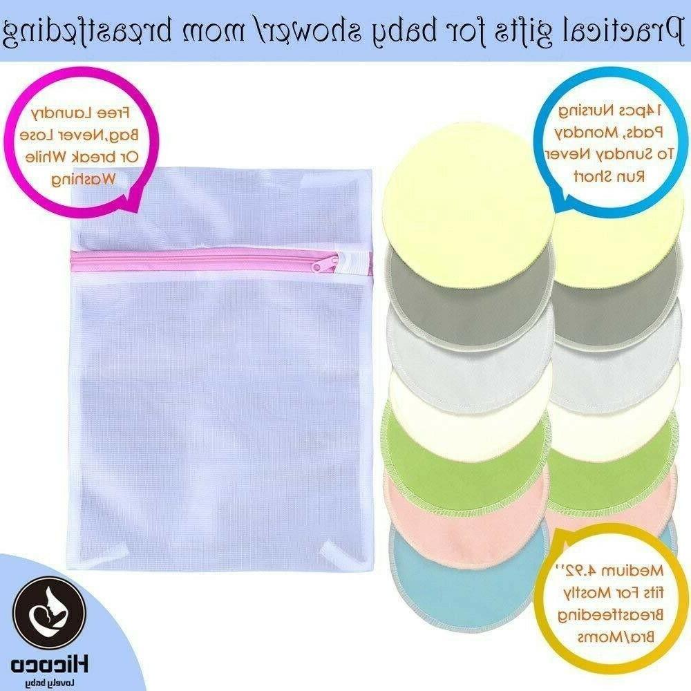 bamboo reusable nursing pads washable organic breastfeeding