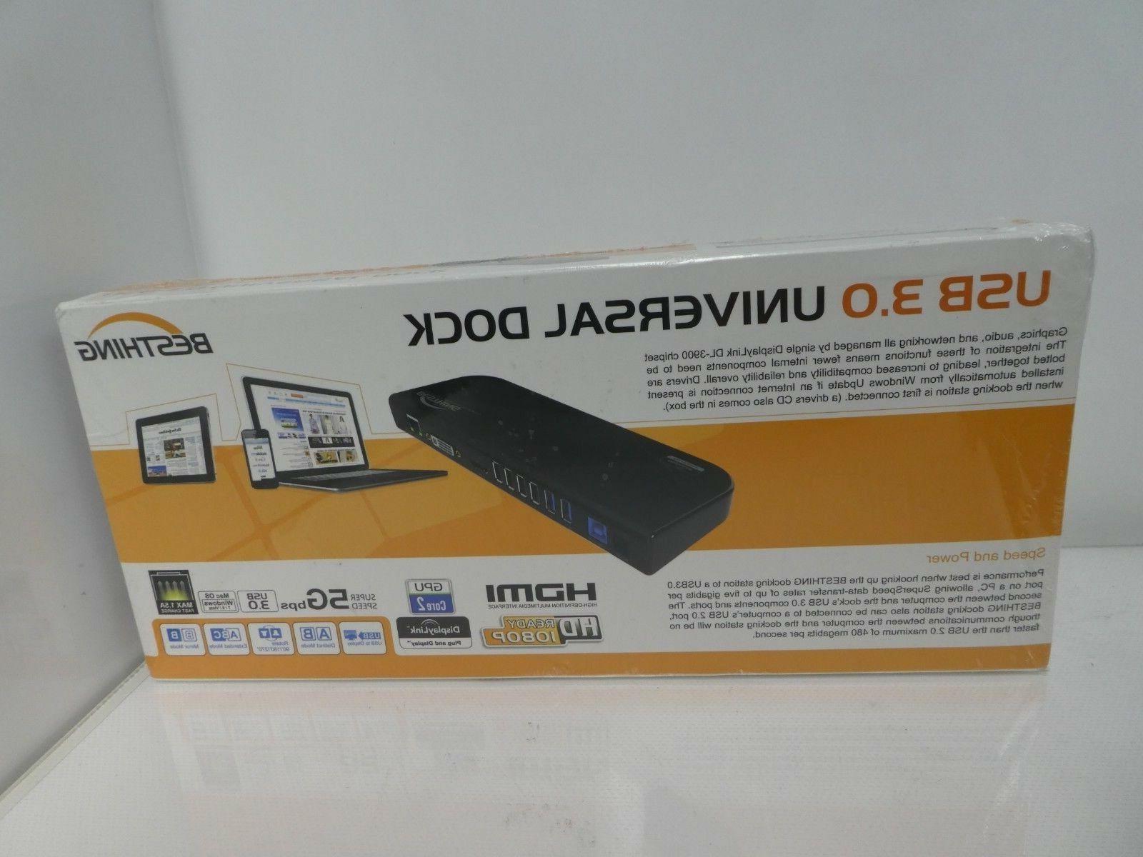 besthing usb 3 0 universal laptop docking
