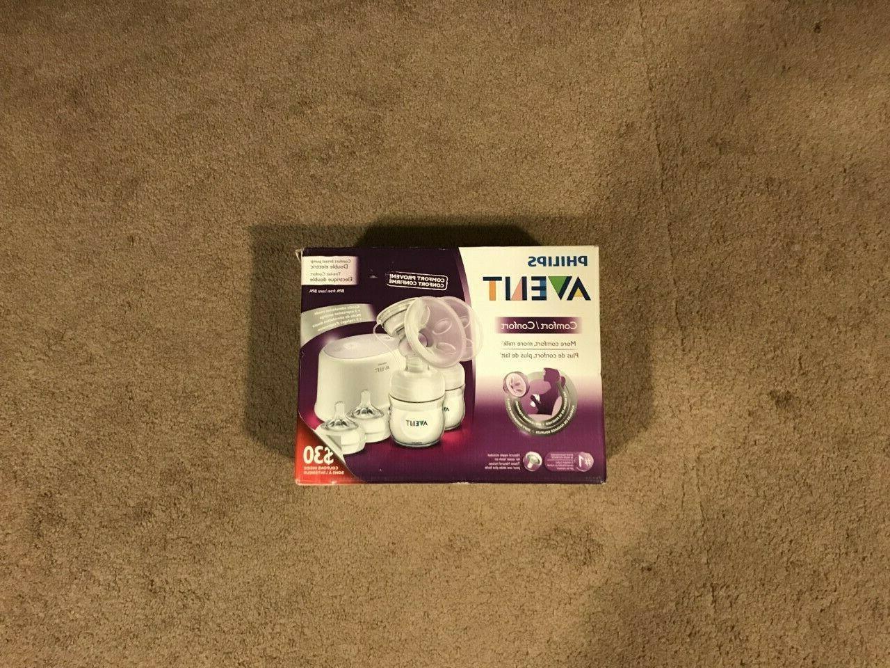 bpa breast milk dual pump natural comfort