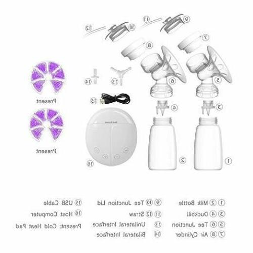 BPA Free Electric Breast Pump + Therapy