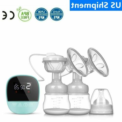 bpa free double microcomputer electric breast pump