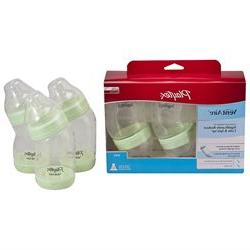 Playtex BPA Free 6 Ounce Ventaire Advanced Wide Nursers 3 Pa
