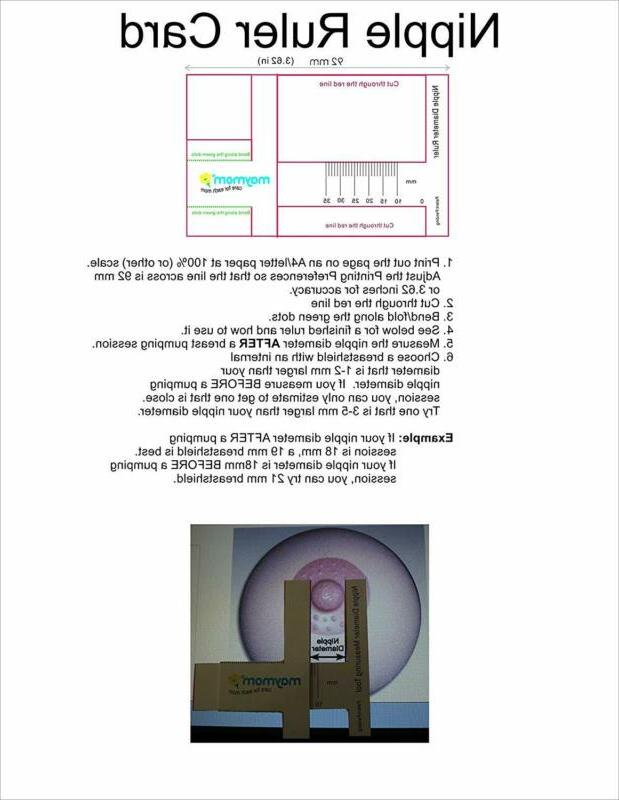 Maymom Brand 15 mm 2xOne-Piece Small w/Valve Membrane