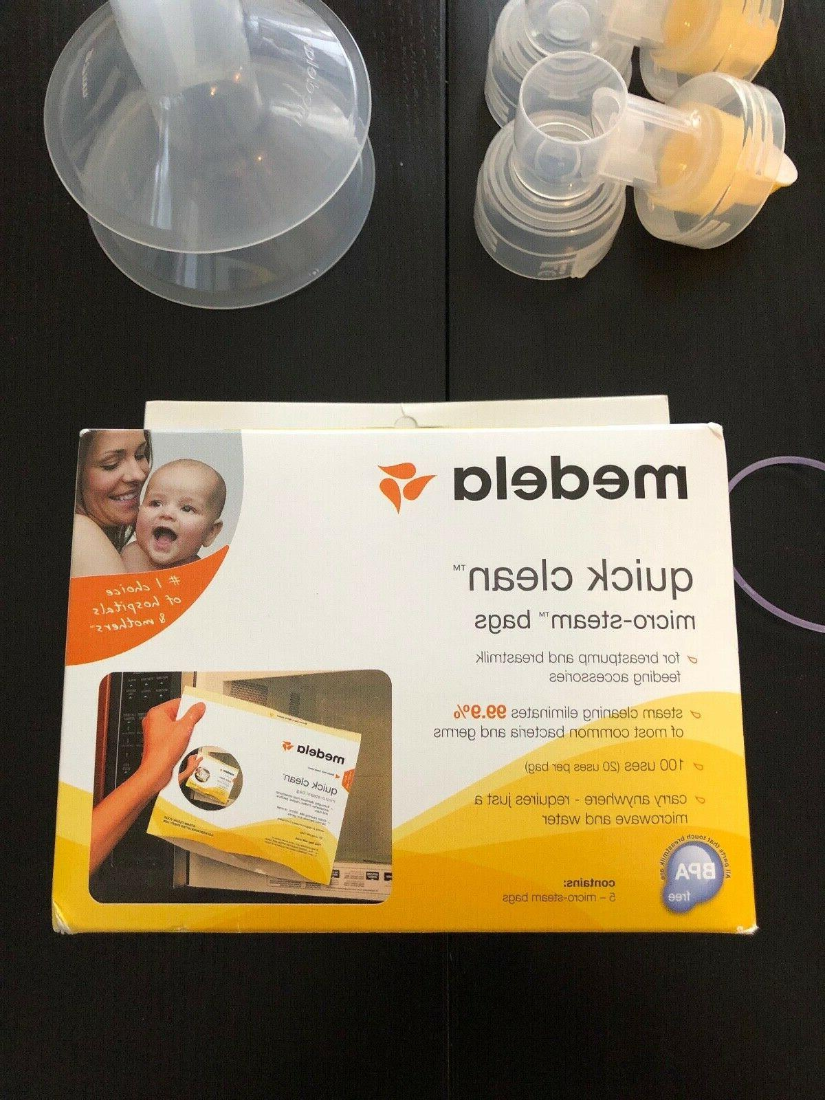 Brand New Medela In Metro Bag w/extra parts and supplies
