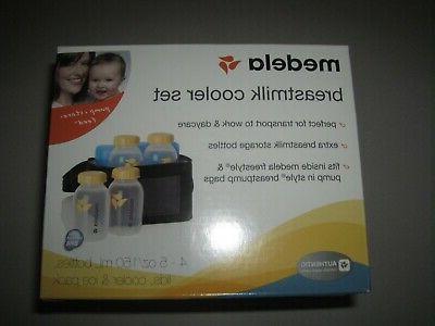 breast milk cooler and transport set 5