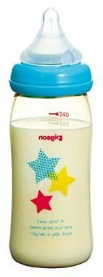 Pigeon breast feeling bottle Star Pattern 240ml 0