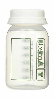 Ameda Breast Milk Storage Bottles - 4 Count