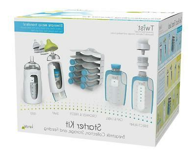breast milk storage twist starter kit