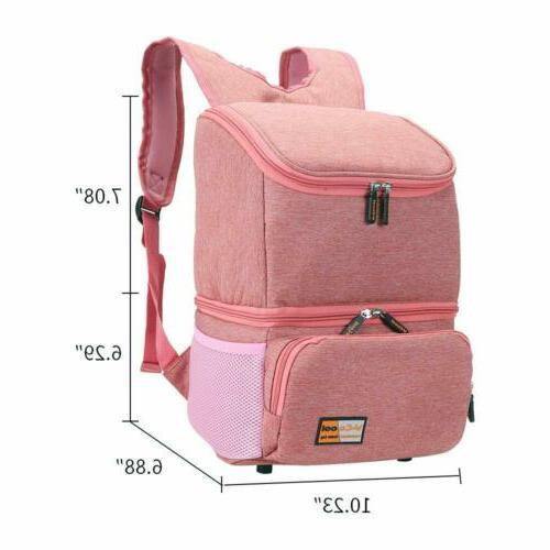 Waterproof Baby Bottle Pump Bag Backpack Cooler
