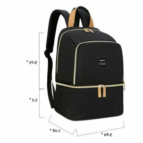 Breast Pump Backpack Bottle Bag Baby Diaper Bags Waterproof