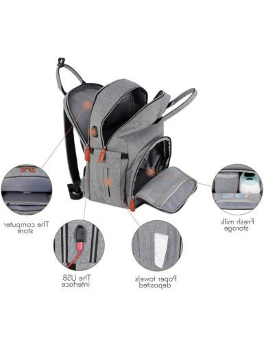 Breast Pump Picnic Waterproof Backpack Large Backpa