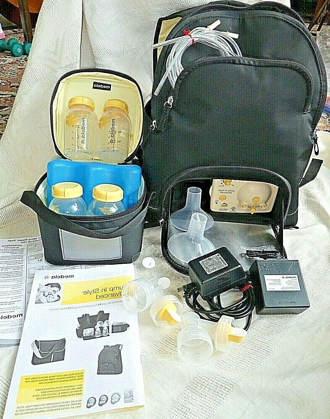 breast pump electric and battery travel kit
