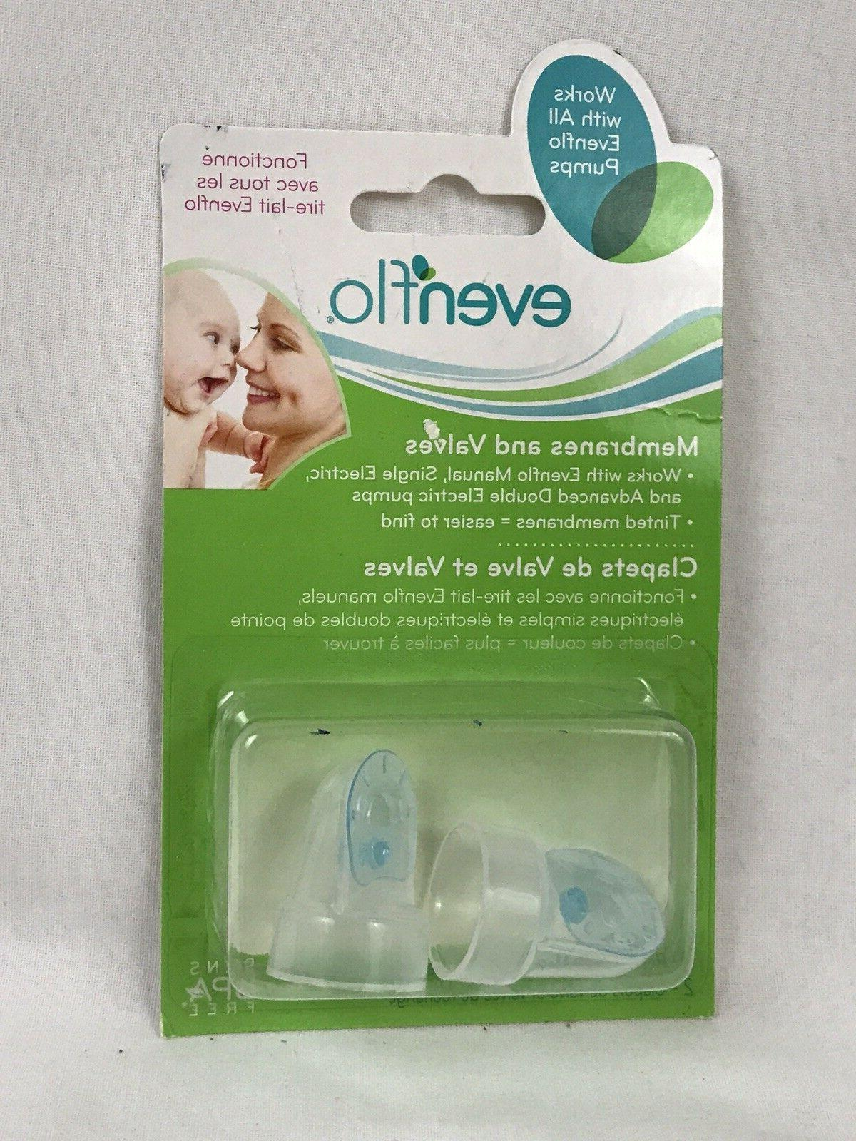 New Breast Pump Membranes and valves