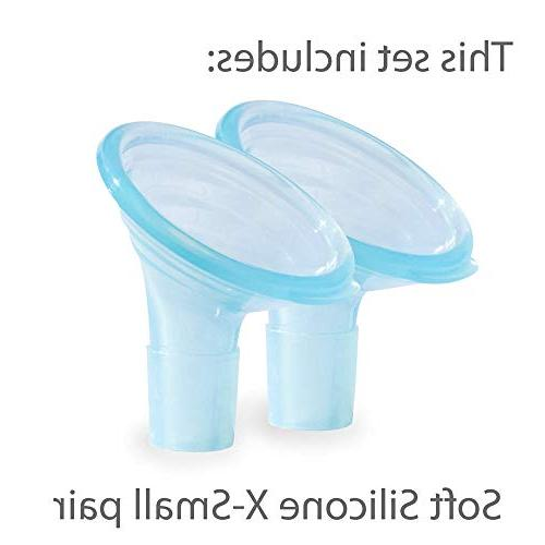 Pumpin' Breast Pump Flanges Medela, Lansinoh, Hygeia - Does fit in Spectra