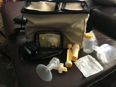breast pump in style advanced double breastpump