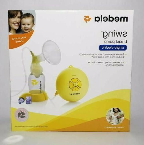 breast pump kit swing single electric brand