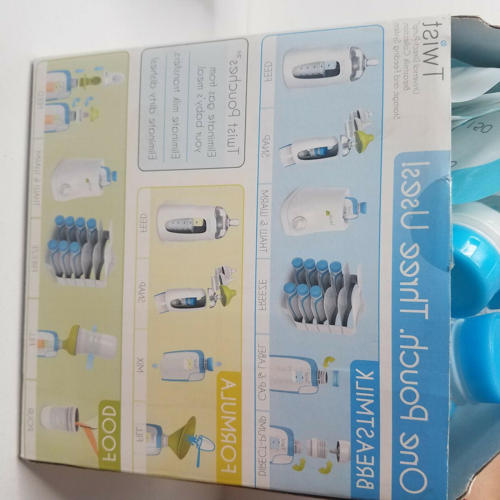 Breast Milk Storage Twist 6 Oz Pack Breastmilk Bags Infant