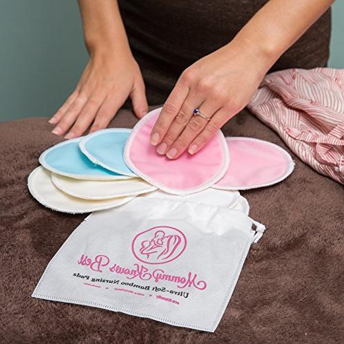 Breastfeeding Bundle Gift Set Kit - Pads, Breast Pump, Organic Nipple Breast Milk