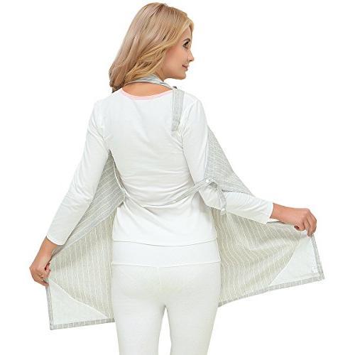 Breastfeeding Nursing Cover - Breathable Car Canopy Apron in