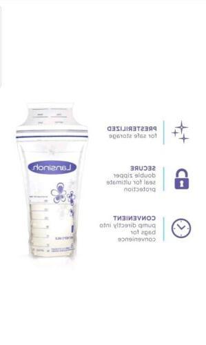 Lansinoh Breastmilk Storage Bags,Convenient Milk Storage Breastfeeding.