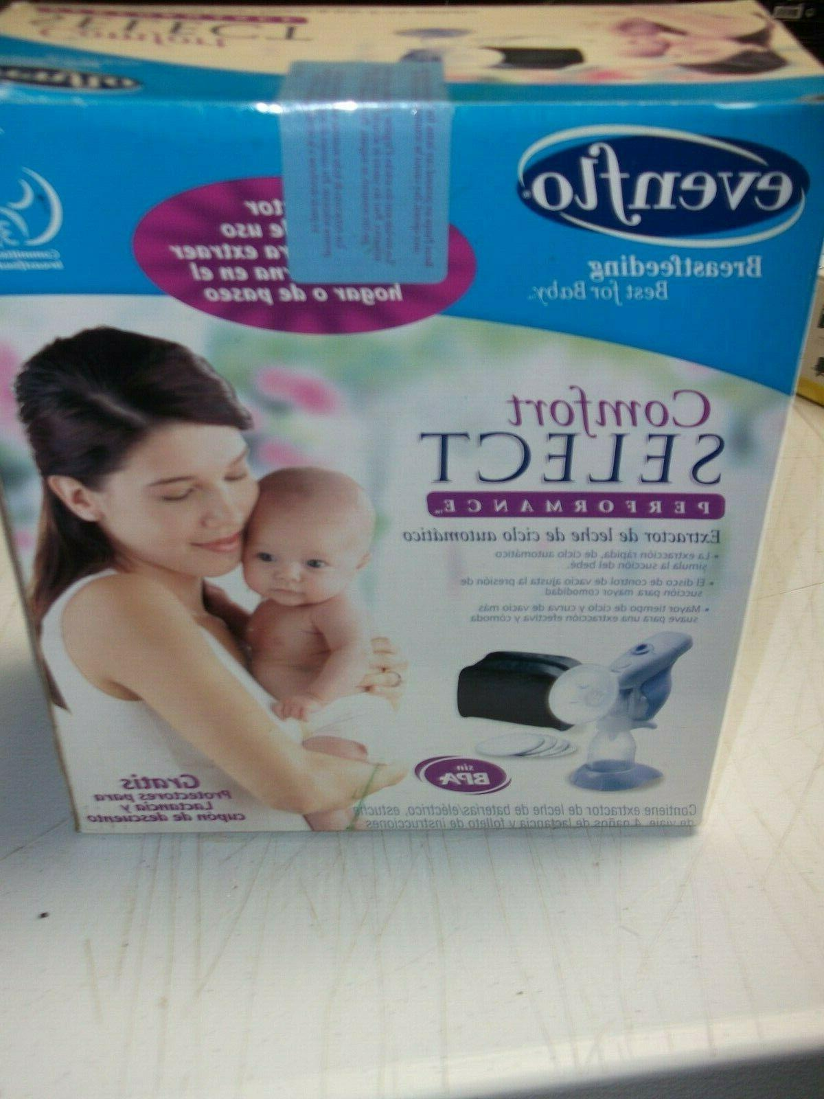 Evenflo Comfort Select Performance Auto-Cycling Breast Pump