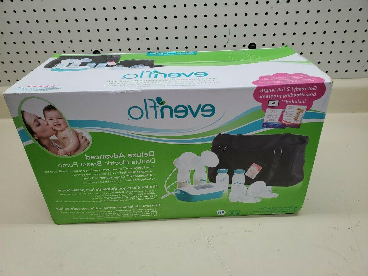 deluxe advanced double electric breast pump new