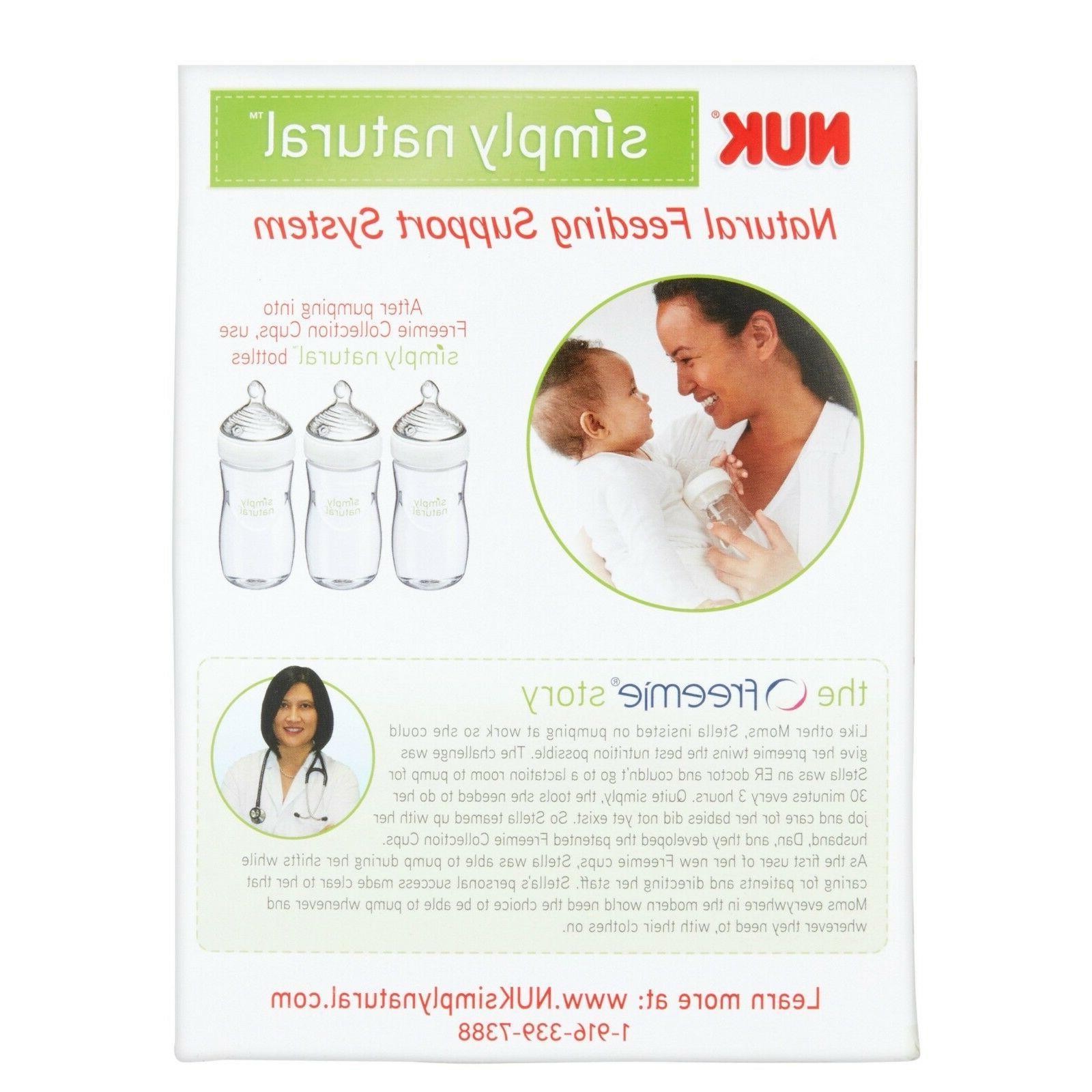 Discrete Breast Simply Natural Freemie Cups Accessory Set