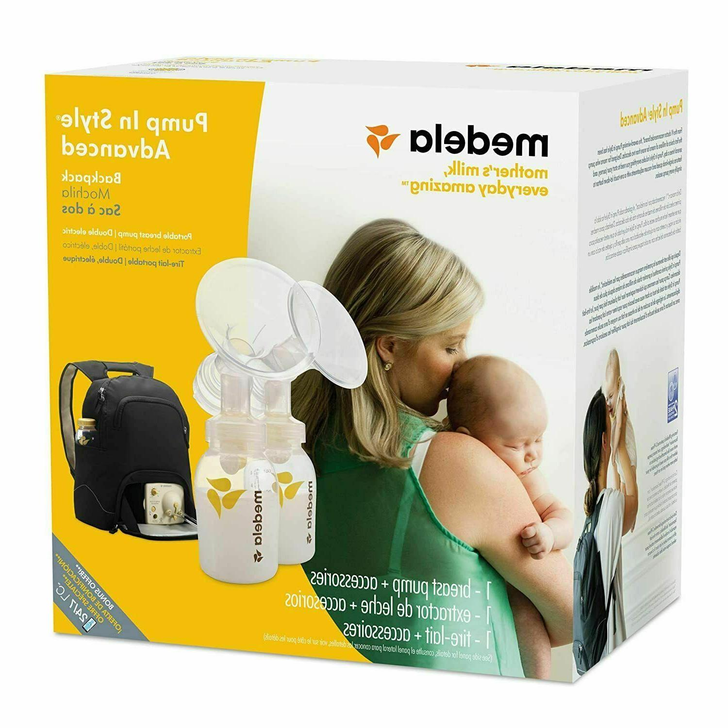 double breast pump kit pump in style