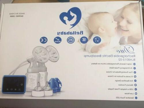 Bellababy Double Electric Feeding Pumps Pain Strong Suction