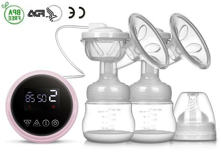 Double Rechargeable Nursing Breastfeeding USB Portable