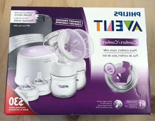 double electric comfort breast pump scf334 12